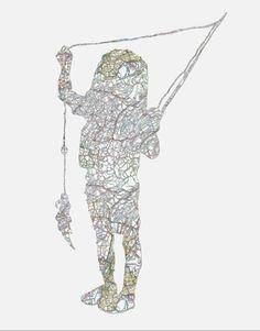 Bildresultat för maps in contemporary art