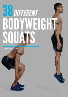 With all the different types of squats to choose from, you can say goodbye to workout boredom. Try these bodyweight squats for every need and fitness level. Body Weight Squat, Body Squats, Body Weight Training, Squat Workout, Workout Memes, Workout Challenge, Workout Ideas, Types Of Squats, Larissa Reis