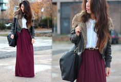 Primark Oxblood Maxi | Article 21