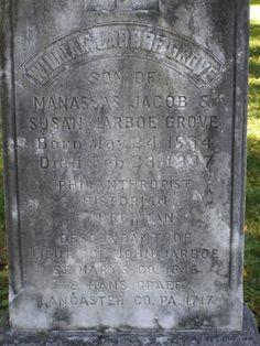 William Jarboe Grove