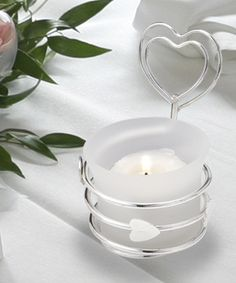 Heart Design Candle Holders