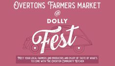 We all know the importance of supporting #local #businesses- don't we? On Sunday 25th August Dolly will be running #Overtons #Farmers #Market!  Great opportunity to meet your local farmers and producers- buy #local and the #freshest products.  You will need a #free ticket, and you can get it here bit.ly/DollyFest #DollyDoes local, fresh and delicious!!!t How To Memorize Things, Things To Come, Gin Bar, Private Chef, Buy Local, Wow Products, Farmers Market, Meet You, Ticket