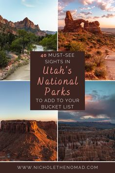 Capitol Reef National Park, Us National Parks, Utah Arches, Visit Utah, Canyonlands National Park, Bryce Canyon, Trip Planning, Travel Inspiration, United States