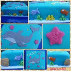 Dolphin cake / dolfijn taart