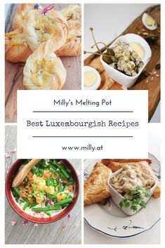 Find the best luxembourgish recipes on Milly's Melting Pot - if you want to surprise someone or try out something new, Luxembourg's cuisine is like the lovechild of germanic hearty foods with french finesse! Fondue Recipes, Dinner Recipes, Dinner Ideas, House Dressing Recipe, Melting Pot Recipes, Fondue Restaurant, Soup Starter, Spinach Stuffed Mushrooms, Food Trends
