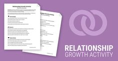 Relationship Growth Activity