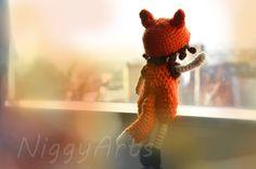 Gehäkelte Puppe: Little foxgirl