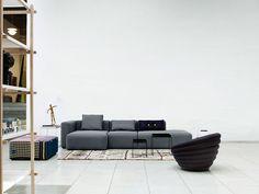 HAY mags sofa. Modulaire zetel.