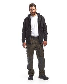 Tumma oliivinvihreä/Musta,C146 Mens Knickers, Trousers, Pants, Workplace, Work Wear, Winter Jackets, Mens Fashion, How To Wear, Diy