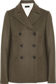 Joseph Yosh double-breasted wool-blend felt coat | THE OUTNET