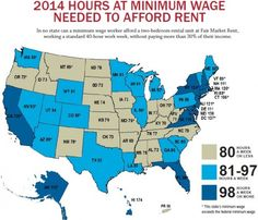 Rent and Minimum Wage. $28.25: the minimum wage D.C. would need to support a modest 2-bedroom