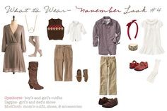 Classic + Preppy Fall, Family Style Guide, Clothing Inspiration for Photo Shoots #portraits #afterglowphotos