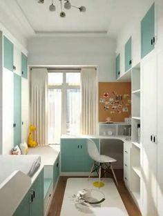 Kids Bedroom Furniture Design, Small Room Design Bedroom, Kids Bedroom Designs, Home Room Design, Kids Room Design, Home Interior Design, Room Ideas Bedroom, Room Decor, Small Apartment Interior