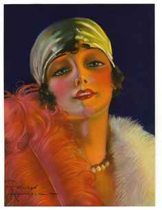 wilson hammell art deco pin up print jazz age flapper turban feath Art Quotes Artists, Olivia De Berardinis, Art Tumblr, Vintage Illustration Art, Female Pictures, Art Deco Posters, Thing 1, Up Girl, Drawing People