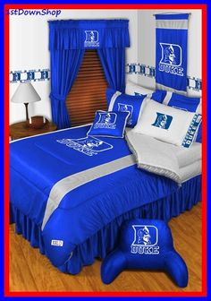 Duke Blue Devils Bedding Ncaa Comforter Sportskids Super Pinterest And Devil
