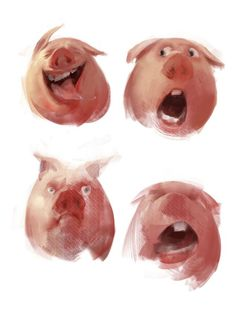 pig concept art - Google Search