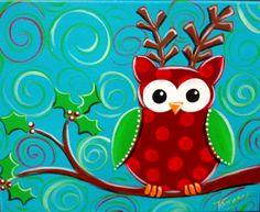 Reindeer Owl