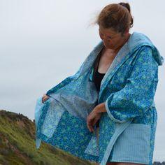 Spa Robe w/ Drain Pockets  Women's M/L by PreciousSurvivors