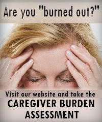 """Being a caregiver for a loved one is a full time job and can be stressful and adverse to your health. Take our Caregiver Burden Assessment to see if you're """"burning out."""" http://www.norwoodseniorsnetwork.org/checklist"""