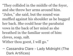 **Lady Midnight Spoilers**