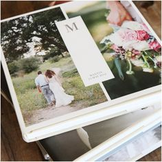 GIVEAWAY ANNOUNCEMENT! Artifact Uprising Wedding Photo Albums // @ArtifactUprsng