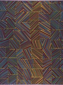 "Vlisco fabric pattern ""Homage à l'art"""