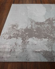 "Morning Mist Rug, 8'6"" x 11'6"", Brown/Gray - Neiman Marcus"