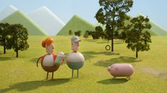 """Chipotle """"Back to the Start"""" - a short animated film highlighting the issue of sustainable farming."""