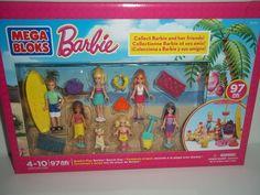 Mega Bloks Barbie Beach Day Building Set For Ages 4-10  A137B466  #MEGABrands
