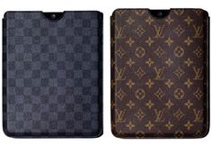 Gucci and Louis ipad cases.