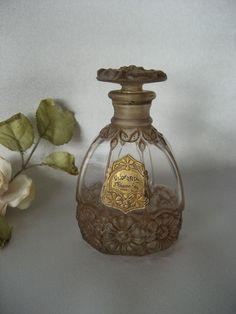 Vintage very rare VIARD Perfume Bottle J GIRAUD FILS Odorantis - Flacon Parfum