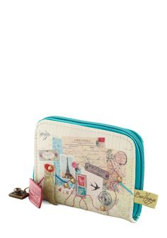 Round Trip Wallet. All aboard! #multi #modcloth