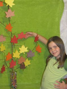 November is a great time to work on practicing thankfulness with our children. It's something that we often forget to practice. Summer Camp Crafts, Camping Crafts, Camping Ideas, Thankful Tree, Vacation Bible School, Women's Ministry, Lesson Planning, Tree Crafts, Classroom Themes