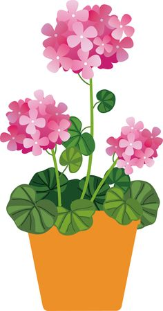 18 best clip art potted plants clip art images on pinterest potted pink flowers mightylinksfo