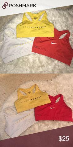 Nike sports bra bundle 3 Nike sports bras! Size medium, 💕💪🏻 Intimates & Sleepwear Bras