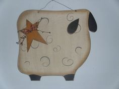 Large Primitive Sheep | ... listing at http://www.etsy.com/listing/120673614/large-primitive-sheep