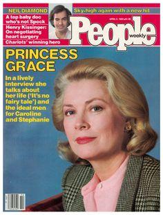 People - Cover - April 5, 1982 - Princess Grace