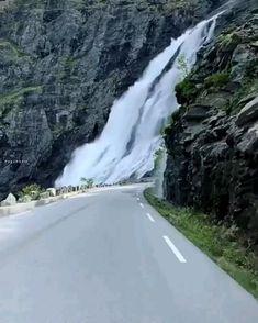 Beautiful Photos Of Nature, Beautiful Places To Travel, Nature Pictures, Amazing Nature, Wonderful Places, Beautiful Landscapes, Cool Places To Visit, Beautiful Norway, Beautiful Roads