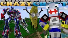 Minecraft CRAZY CRAFT -  INSIDE THE ATLANTIC CRAFT'S BASE w/Little Lizar...