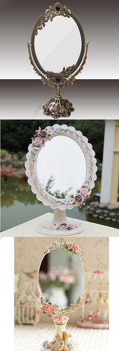 Beautiful boho tabletop mirrors! Click on the picture to see more!