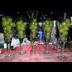 Las #uvas para los #deseos. #AñoNuevo #NuevoAño #2014 #2015 #Enero