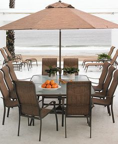 Oasis Outdoor Patio Furniture Dining Sets U0026 Pieces   Furniture   Macyu0027s