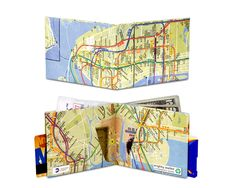 The original Tyvek wallet since A light, thin wallet made of a single sheet of Tyvek. Choose over 30 wallets with minimalist and fun designs made by artists around the world. The best wallet for men and women that fit in your front pocket. Nyc Subway Map, Tyvek Wallet, Modern Wallet, Mighty Wallet, Best Wallet, Map Design, Unusual Gifts, Cool Designs, The Incredibles