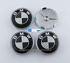 D/&R Set Of 4 pcs 68mm Wheel Center Caps Hubcaps For BMW M