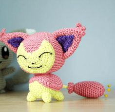 Pokemon-Inspired Crochet Toy | FaveCrafts.com ~ intermediate level ~ FREE - CROCHET