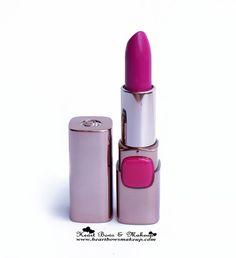 LOreal Moist Matte Lipstick Glamor Fuchsia Review