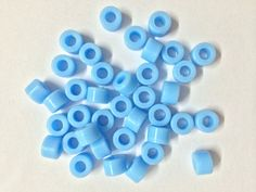 50 Pcs Light Blue Small Type Dental Silicone Instrument Color Code Rings  #UnbrandedGeneric