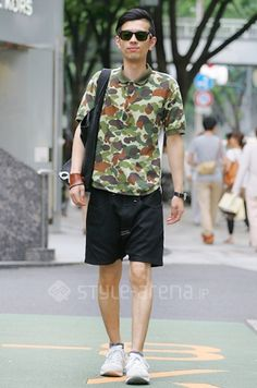 camo - はなわ's STYLE -TREND SEARCH   スタイルアリーナ style-arena.jp
