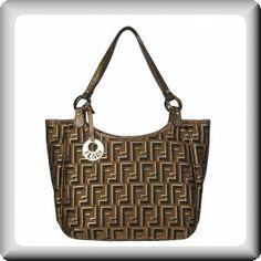 Fendi Canvas Shopper Bag