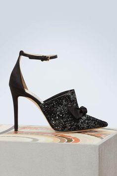Buy Jimmy Choo Temple 100 pumps online on 24 Sèvres. Shop the latest trends - Express delivery & free returns Top Jimmy, Sparkly High Heels, Satin, Jimmy Choo Shoes, Fashion Heels, Women's Fashion, Contemporary Fashion, Black Pumps, Stiletto Heels